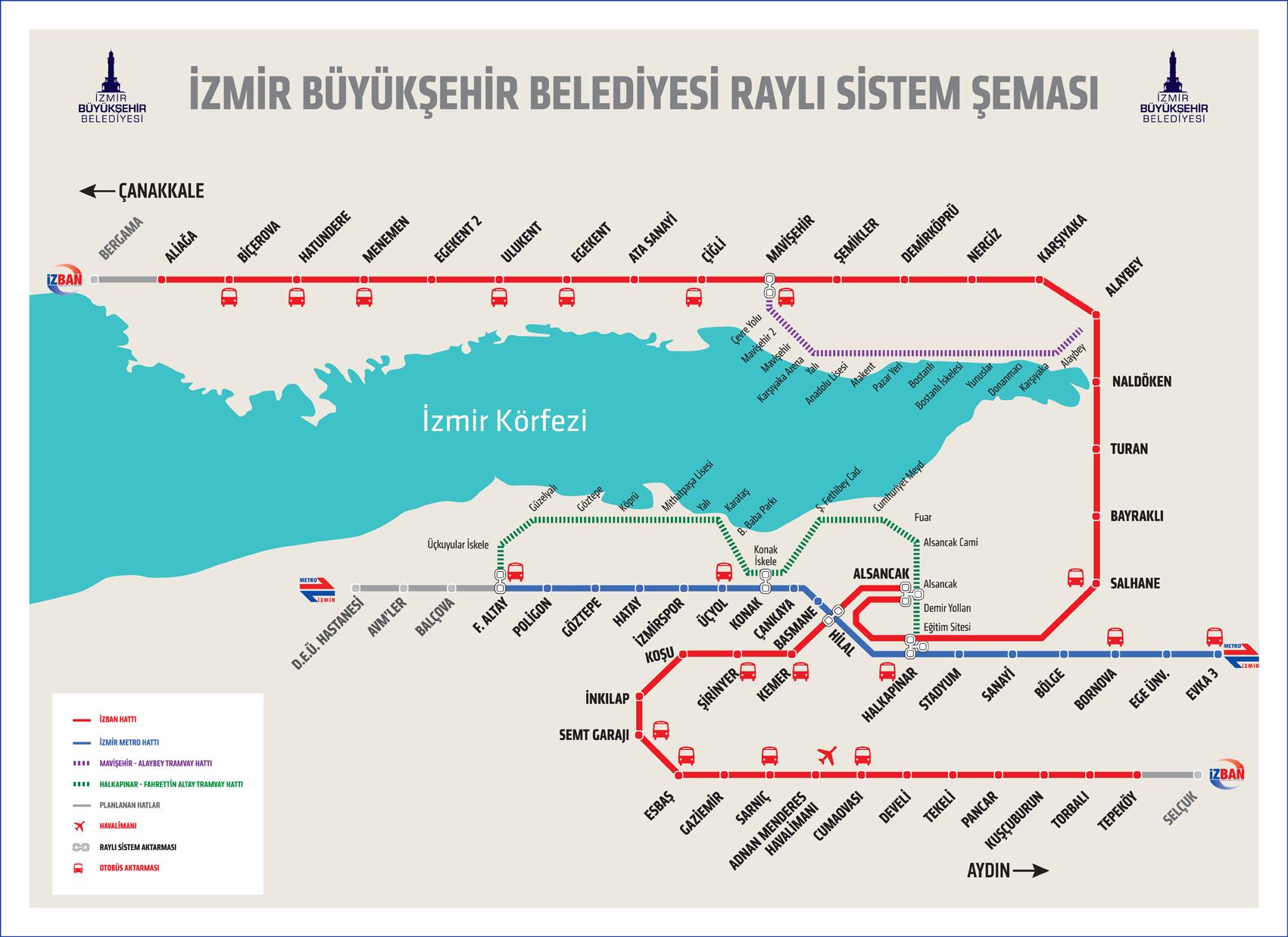 Photo of İzmir Metro Çalışma Saatleri
